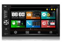 otojeta wince 6.0 OS 4UI in one system CAR DVD PLAYER 2din universal double din autoradio 172*98mm BT GPS NAVI RADIO TV stereo