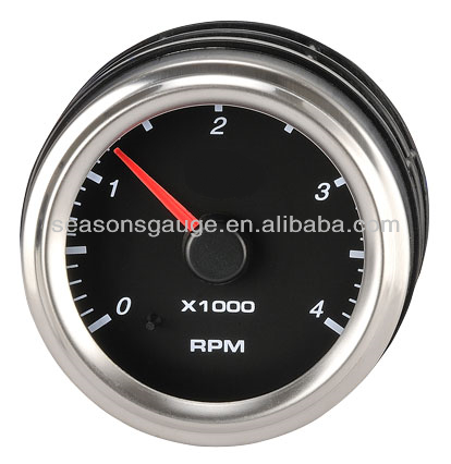 Analog Marine Instrument Diesel Engine Tachometer for Yacht Boat