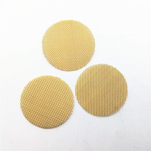3/4 inch brass mesh tobacco filter smoking pipe screen