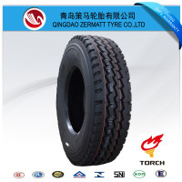 Fine price hot sale giant mining truck tire 11R24.5 tire