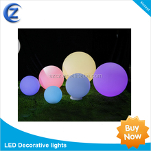 ZT1L1 color changing solar crackle glass ball led light for indoor,corridor courtyard,camping and field operations,etc