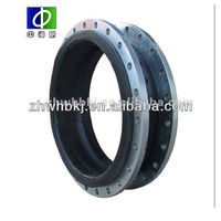 DN25-DN600 single sphere PTFE Lined Rubber Expansion Joint with flange end