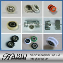Qingdao Aluminium/Plastic/Nylon /POM/PVC sliding door window roller/ Bearing/ Wheel