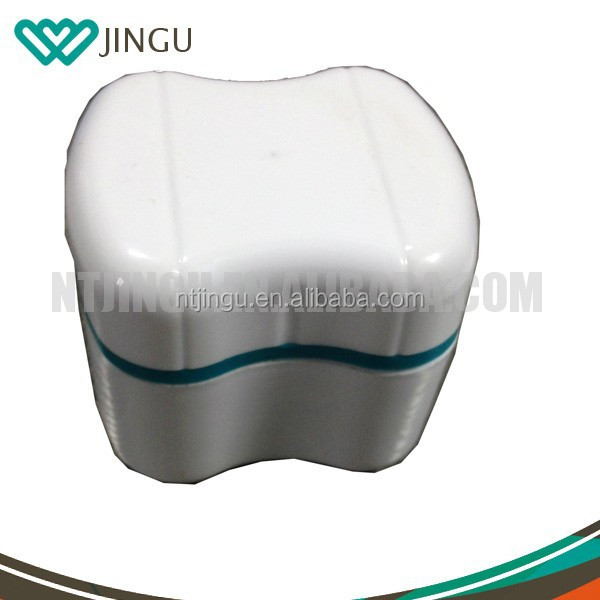 2015 HOT selling Denture BATH Case/ Container /Box with Rinsing Basket