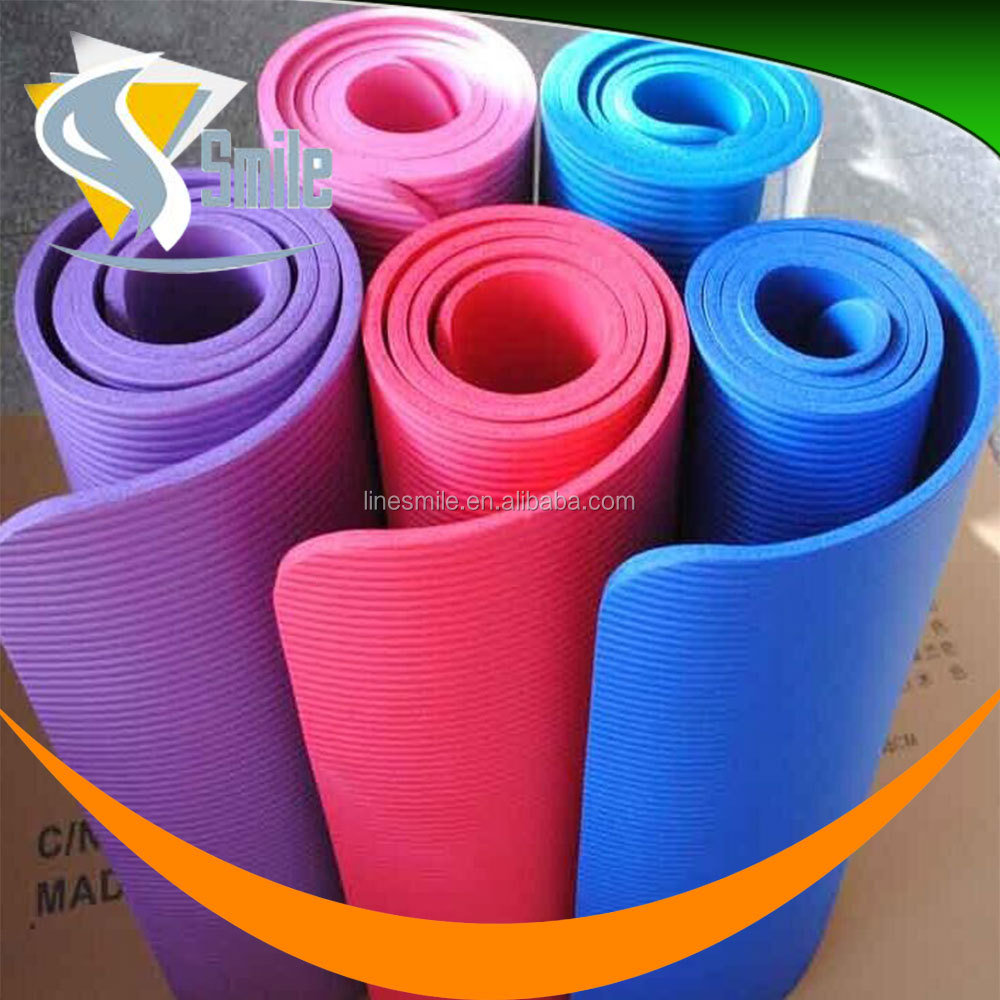 eco friendly fitness 1/2 inch foam yoga foam mat