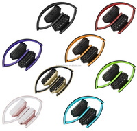 Sport Foldable Wireless Portable Bluetooth Headphone Wireless Headset With FM radio and Memory Card