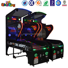 Indoor arcade hoops cabinet basketball game/extreme hoops electronic basketball game.Trade assurance supplier