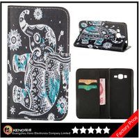 Keno Cheap Price Wholesale Leather Make Cell Phone Accessory Case for Samsung G530