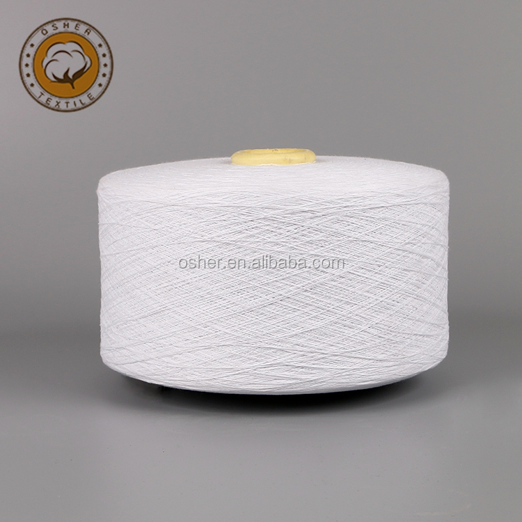 low price custom Ne8s recycled open end 100 cotton yarn
