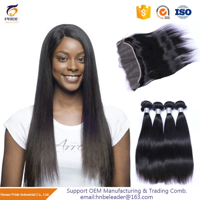 China Famous Brand human hair silky straight