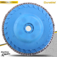 stainless steel satin polishing tools angle grinder abrasive flap disc
