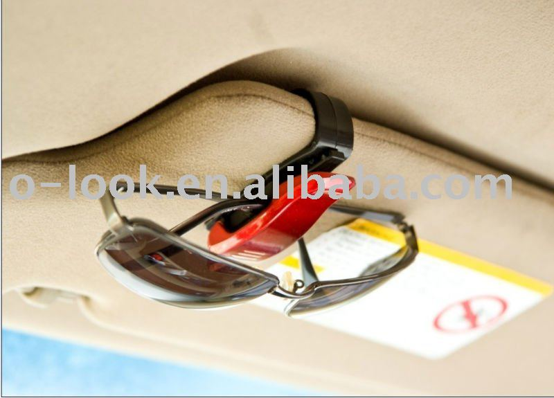 Sunglasses visor clip/pen holder