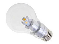 Pure white aluminum bulb 3w-24w led bulb corn