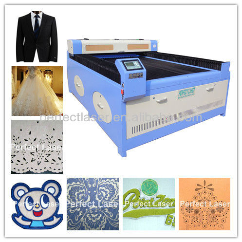 80W /100w/ 150 W Large Area Clothing/Apparel/Garment Professional automatic feeding cutting machines used garment industry