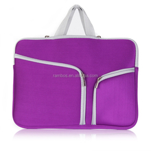 Laptop Sleeve Neoprene Zipper Pocket Carry Bag Case for MacBook Air 11 to 15 Inch