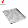 304 Stainless Steel Baking Sheet with Removable Rack