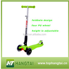 wholesale top selling plastic kids scooter with Maxi 4 Wheels