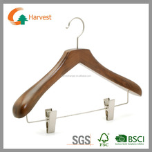 wooden easy snap shirt pants hanger mate