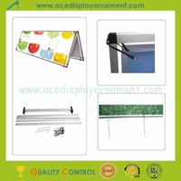 outdoor exhibition product monsoon banner stand