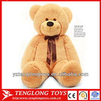 New type stuffed giant plush teddy bear toy with tie