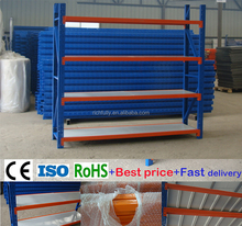 2016 hot sale warehouse storage steel shelves with 4 layers steel boards