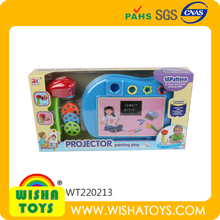 Hottest Plastic Slide Projector Toy Child's Toy Projector Painting Toy