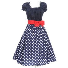 Dropship wholesale in stock women dress prom party plus size 22 clothes rockabilly