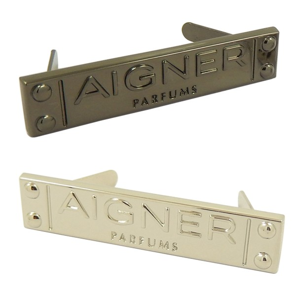 Custom Square Metal Tags for Handbag