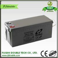 GEL battery 12v 180ah sunrise rechargeable battery