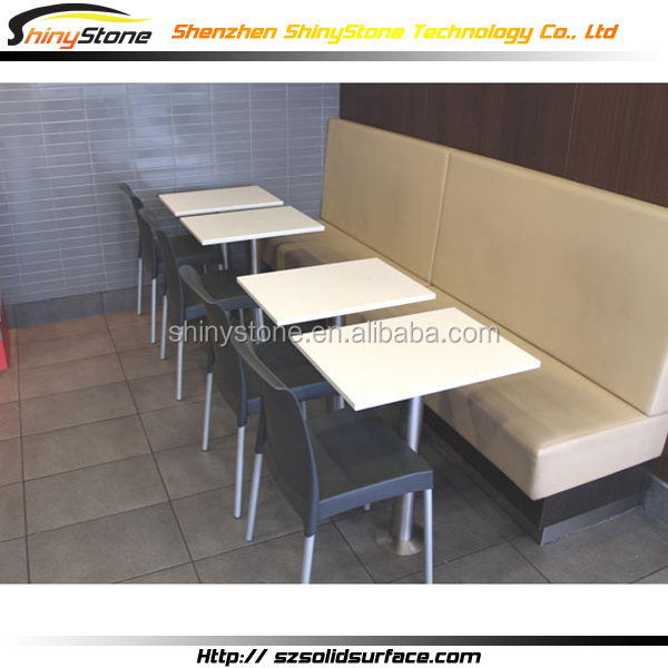 Amazing modern office modified solid surface dining table mould
