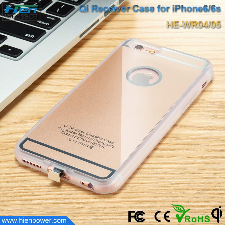 Qi wireless charger phone best cell charger magnetic resonance charging receiver case for iphone 6 7