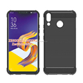 alpha design brushed metal air cushion shock proof tpu soft case for Zenfone 5z ZS620KL ZE620KL mibole phone back cover