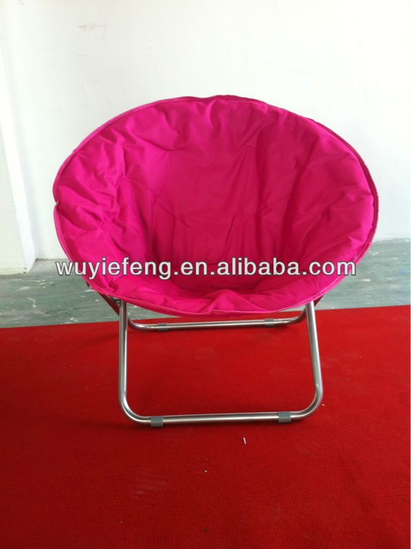 outdoor furniture folding moon chair