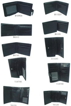stock italian leather ladies and mens wallet buy