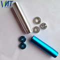 custom cnc machined stainless steel cigarette filter shape electronic cigarette