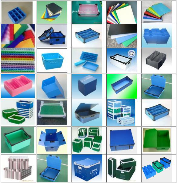 China suppliers pp plastic material danpla hollow corrugated correx flute corfluted correx sheet for construction