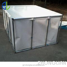 PVC canvas kio fish tank with foldable frame for quick set