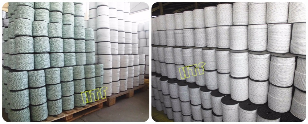 large selection of polywire used for cattle electric fence