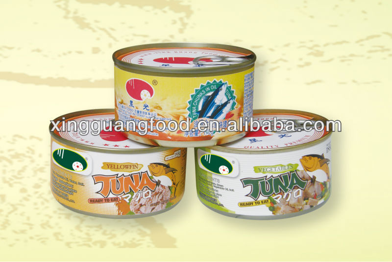 XingGuang ISO certification Canned tuna wholesale
