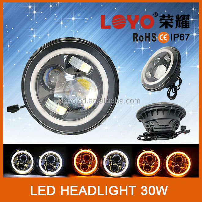 Awesaome product !100% quality test 30w led motorcycle headlight 9inch 12v