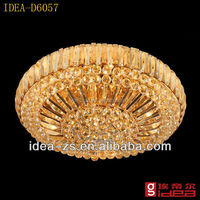 D6057 led indoor ceiling lamp, lobby ceiling lamps, modern glass purple ceiling light