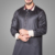 New Arrival GentleThobe Saudi Clothes Simple Style Abaya Stand Collar Islamic Men Clothing High Quality Robe Arab Thobe