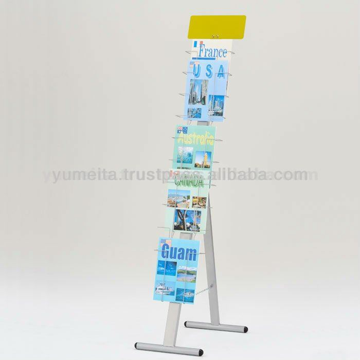 Japanese High Quality Tw Steel Display Stand, Folding Ready Brochure Holder