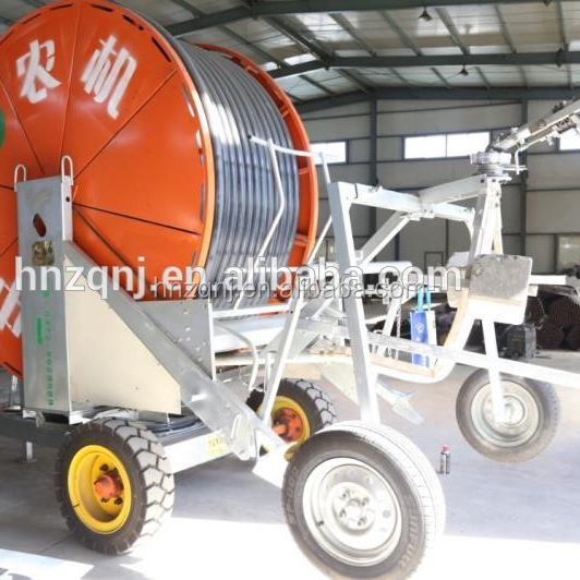 Fully automated farm irrigation system JP 75 hose reel irrigation machine with lowest price