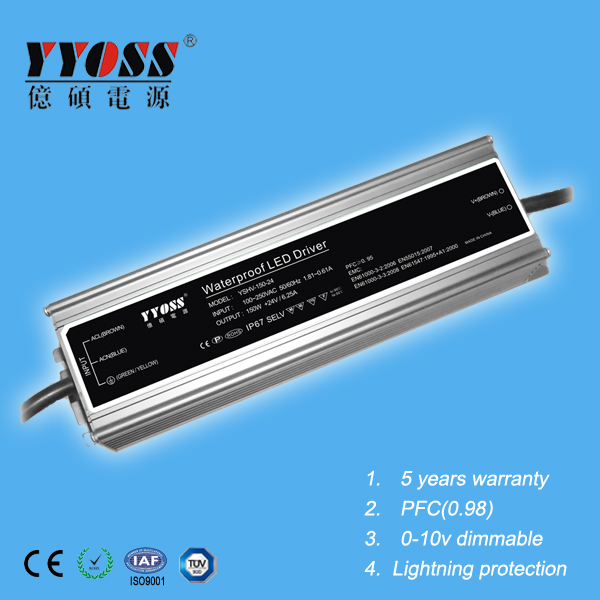 24v dc 100-240v ac power supply 120W Series