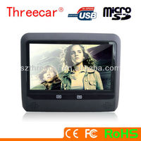 New arrived 9inches High definition Headrest Entertainment System touch screen car headrest dvd player