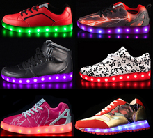 Guangzhou led charge shoes of kids SIZES with 500+models for sneakers, charge shoes led