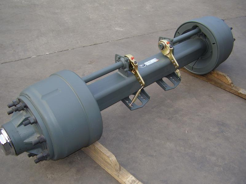With Drop Axle Semi : Drop axle for trailers axles fuel tank trailer ton