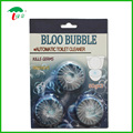 Toilet Bowl Blue Bubble water flush Cleaner blue tablet block