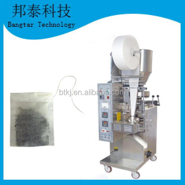 Popular design stainless steel tea bag packing machine make filter paper with string